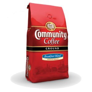 Community Coffee Medium Roast Ground Breakfast Blend 2.5 LB