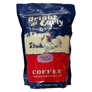 Bright and Early French Vanilla Ground Coffee 2.5 Lbs