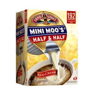 Land O Lakes Mini Moo's Half & Half Coffee Creamer 192 ea .30 oz Cup