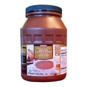 Mocha Cappuccino Mix Daily Chef 72 Servings 3 Lbs at Zee Coffee Shoppe