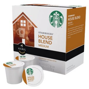 Starbucks House Blend Medium Roast, 16 K Cups Keurig
