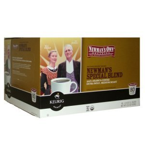 Newmans Special Blend Extra Bold Coffee, 80 K Cups Keurig