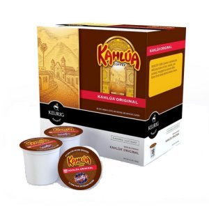 Timothy's Kahlua Coffee Light Roast 18 K Cups Keurig