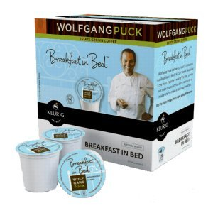 Wolfgang Puck Breakfast In Bed Medium Roast 18 ct K Cups