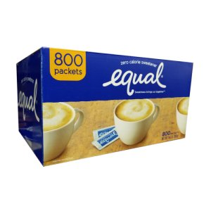 Equal Portion Packets 800 ea 1 g Packets