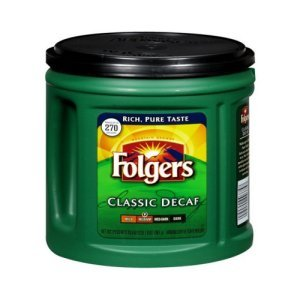 Folgers Classic Decaf Coffee 33.9 oz Ground
