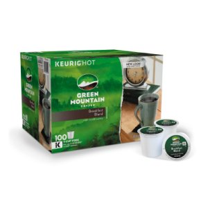 Green Mountain Breakfast Blend 100 K Cups