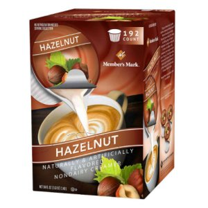 Members Mark Hazelnut Coffee Creamer 192 count