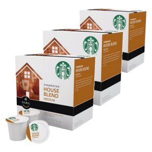 Starbucks House Blend Medium Roast, 48 K Cups