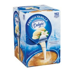International Delight French Vanilla Coffee Creamer 192 ct