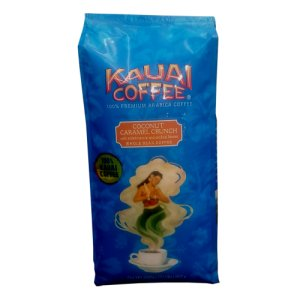 Kauai Coffee Coconut Crunch Whole Bean 32 oz Bag