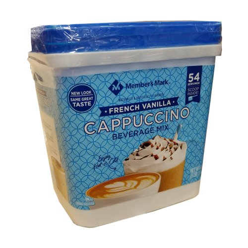 French Vanilla Cappuccino Mix Daily Chef 54 Servings - Click Image to Close
