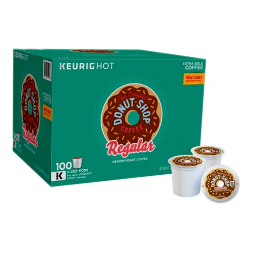 Donut Shop Coffee Regular 100 Count K-Cups - Click Image to Close