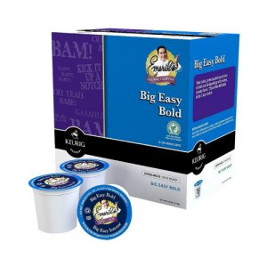 Emeril's Big Easy Bold Dark Roast 18 K Cups Keurig