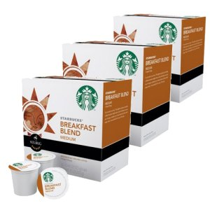 Starbucks Breakfast Blend Medium Roast, 48 K Cups