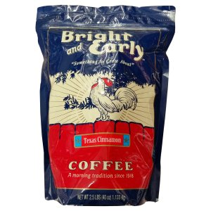 Bright and Early Texas Cinnamon Ground Coffee 2.5 Lbs
