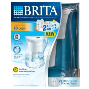 Brita Pitcher Water Filtration System 10 Cup Capacity