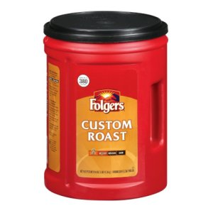 Folgers Custom Roast Coffee Ground 48 oz 380 Cups