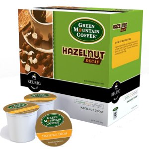 green mountain hazelnut decaf light roast 18 k cups. Black Bedroom Furniture Sets. Home Design Ideas