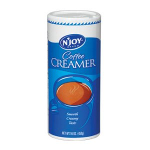 N'Joy Non-Dairy Creamer 8 Pack of 16 oz Canisters