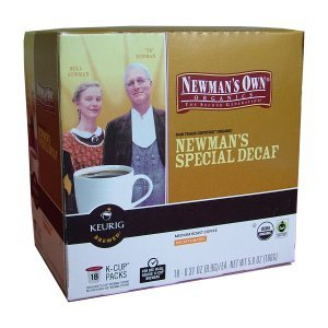 Newmans Own Special Decaf K Cups 18 Count K-Cups