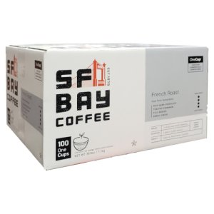 San Francisco Bay French Roast Coffee 100 Ct OneCup