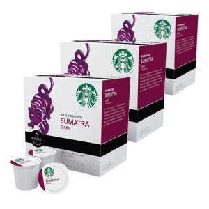 Starbucks Sumatra Dark Roast, 48 K Cups