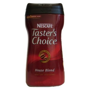 Tasters Choice Instant Coffee House Blend 12 oz, 180 Cups